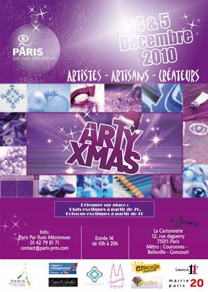Arty Xmas les 3 et 4 décembre 2010